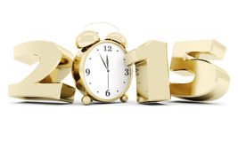 Happy new year 2014 Illustrations 3d Royalty Free Stock Images