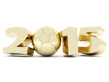 Happy new year 2014 Illustrations 3d Stock Photography