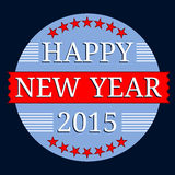Happy New Year 2015. An image of a Happy New Year 2015 Banner vector illustration