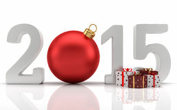 Happy New Year 2015. Image for the celebration of the New Year 2015 Christmas and New Year Royalty Free Stock Photography