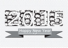 Happy new year 2015. An images of Happy new year 2015 Vector Illustration