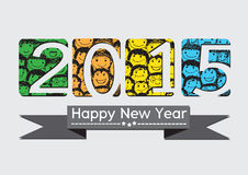 Happy new year 2015. An images of Happy new year 2015 Royalty Free Illustration