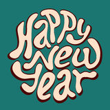 Happy New Year inscription Stock Photography