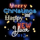 Happy New Year invitation Stock Photo