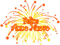 Happy_new_year_italian Stock Photo