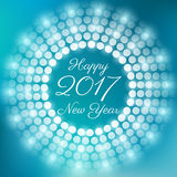 Happy new year 2017 Stock Photos