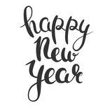 Happy New Year lettering Royalty Free Stock Photography