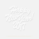 Happy New 2017 Year Royalty Free Stock Photography