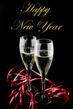 Happy new year with love Stock Photos