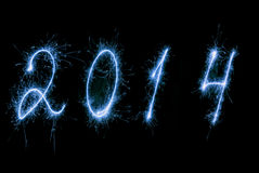Happy New Year- 2014. Stock Photography