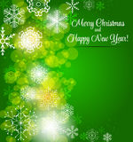 Happy New Year and Marry Christmas Background Royalty Free Stock Photo