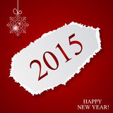 Happy New Year and Marry Christmas Background Stock Image