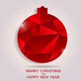 Happy New Year and Marry Christmas Background Royalty Free Stock Photos