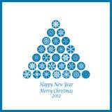 Happy New Year & Merry Christmas Royalty Free Stock Photos
