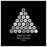 Happy New Year & Merry Christmas Stock Images