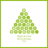 Happy New Year & Merry Christmas Stock Photography