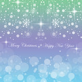 Happy New Year & Merry Christmas Royalty Free Stock Images