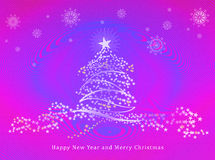 Happy New Year & Merry Christmas Royalty Free Stock Photo