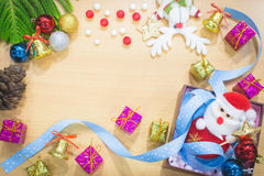Happy new year and merry christmas background Stock Images