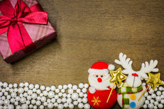 Happy new year and merry christmas background. Stock Photos