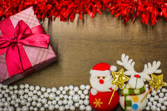 Happy new year and merry christmas background. Stock Images