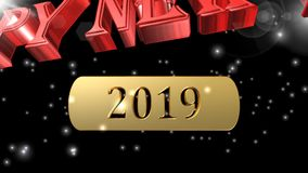 Happy New Year,Merry Christmas,best 3D illustration,best animation
