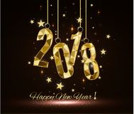 2018 happy new year.merry Christmas. congratulate. 2018 happy new year.merry Christmas. i congratulate with 2018 year Royalty Free Stock Images