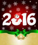 Happy New Year and Merry  Christmas Royalty Free Stock Image