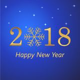 Happy New Year and Merry Christmas holiday celebration. Greeting card. Christmas snow. Snowfall. Winter is coming. Vector illustra. Happy New Year and Merry vector illustration