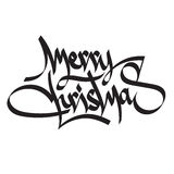 Happy 2017 New Year. Merry Christmas. Happy 2017 New Year. Holiday Christmas, New Year Vector Illustration With Lettering. Happy New Year and Merry Christmas Stock Photo