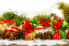 Happy New Year and Merry Christmas Royalty Free Stock Images