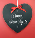 Happy New Year message greeting Stock Photography