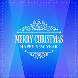 Happy new year message. Merry Christmas holidays wish. Greeting card, invitation, brochure, flyer design. Vector illustration of Happy new year message. Merry stock illustration