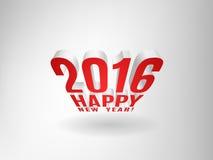 2016 Happy New Year! Stock Image
