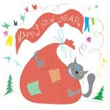Happy New Year mood Royalty Free Stock Image