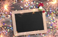 Free Happy New Year, New Years Eve Greeting Card Stock Image - 131537371