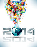 2014 Happy new year Party background. For flyers royalty free illustration