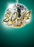 2014 happy new year party background Stock Photos