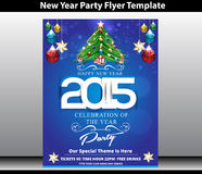 Happy new year party background. Vector illustration royalty free illustration