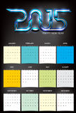 Happy new year party calender Royalty Free Stock Photo