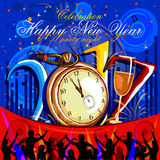 Happy New Year 2017 party celebration poster Stock Photo