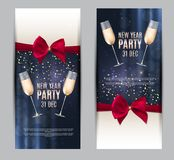 Happy New Year Party 31 December Poster Vector Illustration. EPS10 Royalty Free Stock Image