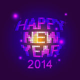 Happy new year party. Illustration of happy new year party Royalty Free Illustration