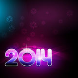 Happy new year party theme design Royalty Free Stock Photo