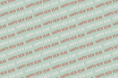 Happy new year pattern. Vector 2017 card Royalty Free Stock Photo