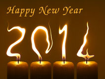 Happy new year 2014, PF 2014 Stock Photos