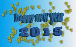 Happy new year. A picture for new year and happy new year stock illustration