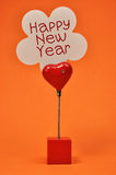 Happy New Year Placecard Sign Royalty Free Stock Photo