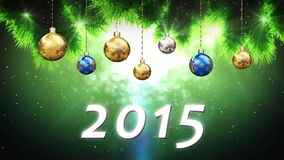 Happy New Year 2015 stock video footage
