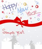 Happy New Year postcard Royalty Free Stock Photos